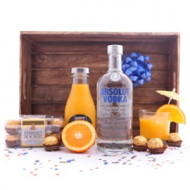 Absolut Screwdriver Cocktail Gift Set