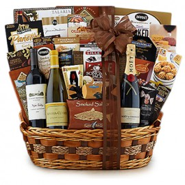All-Star Wine Trio Gift Basket