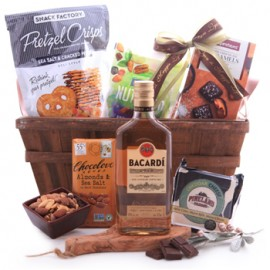 Bacardi Sweet and Savory Basket