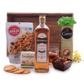 Bushmills Irish Whiskey Savory Basket