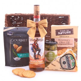 Captain Morgan Rum Savory Basket