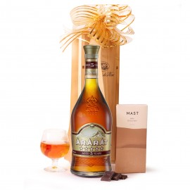 Cognac and Chocolate Gift Set