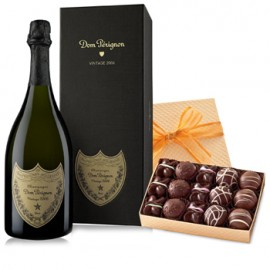 Dom Perignon and a Box of Truffles