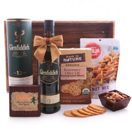 Glenfiddich Whiskey Savory Basket