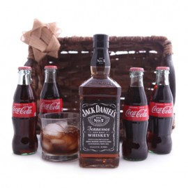 Jack and Coke Gift Set