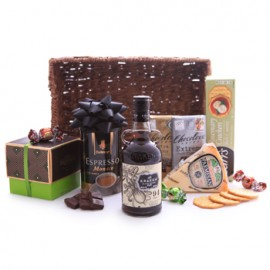 Kraken Black Spiced Rum Sweet and Savory Basket