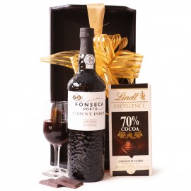 Port and Chocolate Gift Set