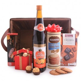Sangria and Chocolate Gift Basket