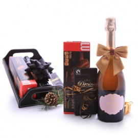 Sparkling Wine Dark Chocolate