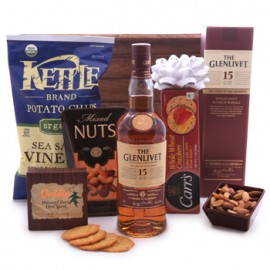 The Glenlivet Single Malt Scotch Savory Assortment