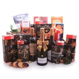 Wine Champagne and Sweet Gourmet Gift Basket