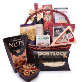 Wine and Dine Gift Basket