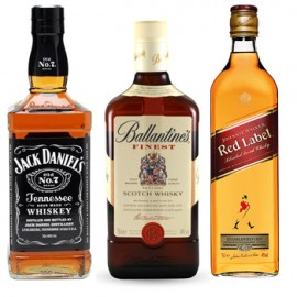 Pioneer Whiskey Trio