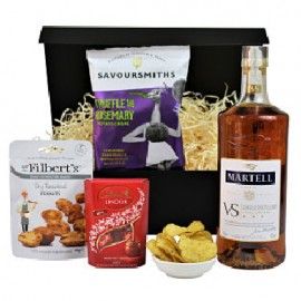 Brandy and Nibbles Gift Set