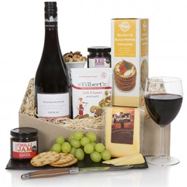 Classic Shiraz and Biscuits Gift Set