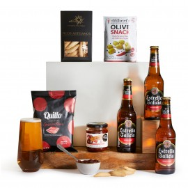 Lager and Snacks Hamper