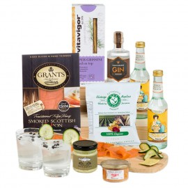 Signature Gin and Gourmet Hamper