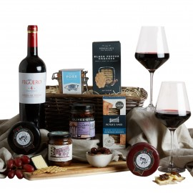 Pate, Cheese, and Wine Hamper