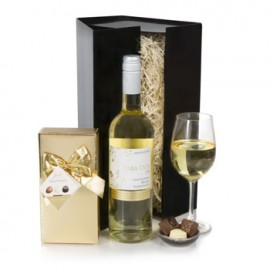 Simply White Wine and Chocolates