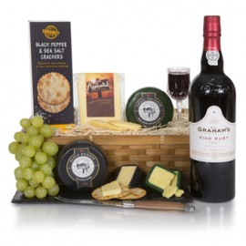 English Cheese Tasting Gift Basket