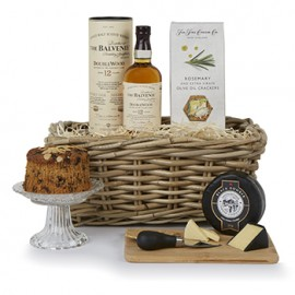 Whiskey and Cheese Hamper