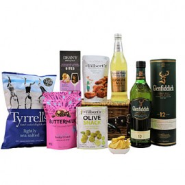 Whisky and Nuts Hamper