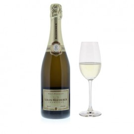 Louis Roederer Brut with Flutes Gift Set