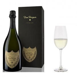 Dom Perignon with Flutes Gift Set