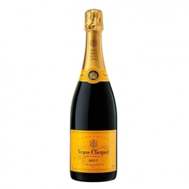 Classic Veuve Clicquot Yellow Label Brut Full Bottle