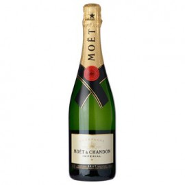 Full Bottle of Moet and Chandon Imperial Champagne