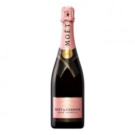 Full Bottle of Moet and Chandon Rose Imperial Champagne