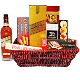 Golden Walk Gift Basket