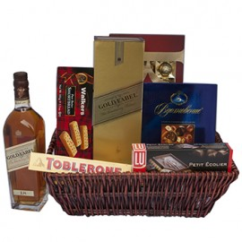 Luxury Delights Gift Basket