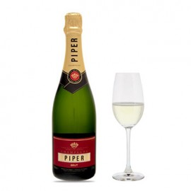 Piper-Heidsieck Brut Cuvee with Flutes Gift Set