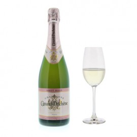 Canard-Duchene Authentic Brut Rose with Flutes Gift Set