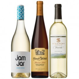 Satisfyingly Sweet Wine Trio