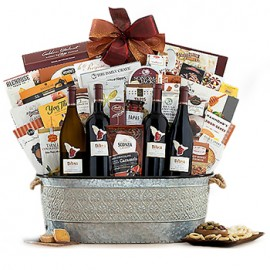 The Celebrated Quartet Gift Basket