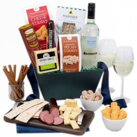Traveled to You Gift Basket