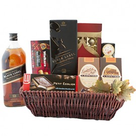 Wintery Walk Gift Basket