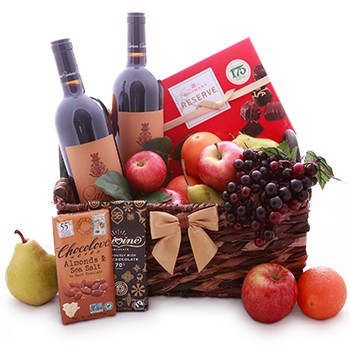 SIMPLY RED BASKET