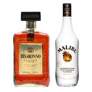 Disaronno and Rum