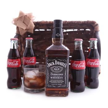 JACK AND COKE GIFT SET