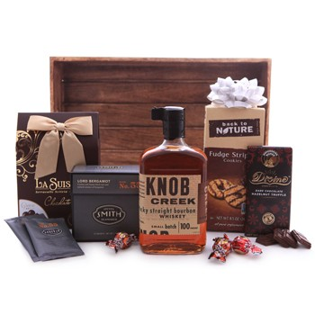 KNOB CREEK WHISKEY AND SWEETS GIFT