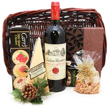 Simply Classic Wine Basket
