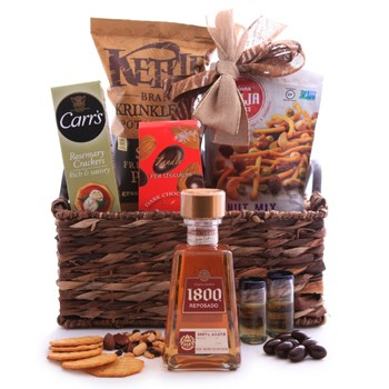 Tequila Reserva 1800 Reposado Sweet and Savory Basket