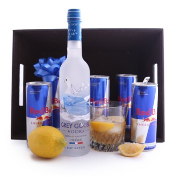 VODKA AND RED BULL GIFT SET
