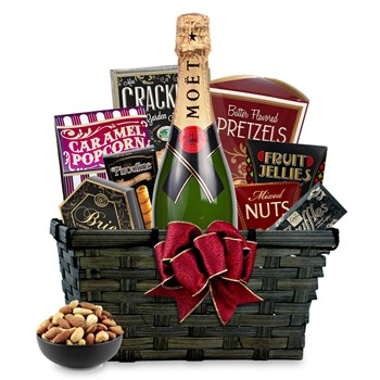 Champagne Gift Basket to South-Sudan