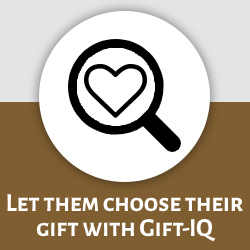Let them choose their gift with Gift-IQ