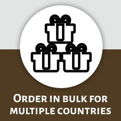 Order in bulk for multiple countries